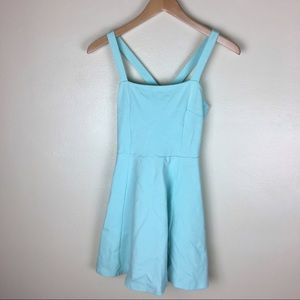 Light blue strappy A-line dress from Divided